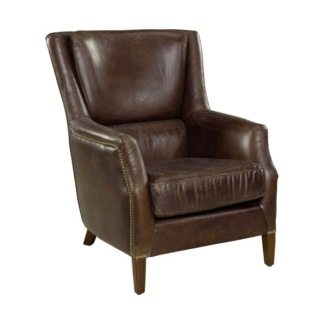 CHELSEA ARMCHAIR VINTAGE LEATHER CIGAR -
