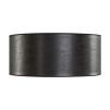CYLINDER SHADE LARGE - Leather black