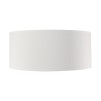 CYLINDER SHADE LARGE - White Linen