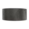 CYLINDER SHADE LARGE - Grey Suede
