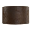 CYLINDER SHADE SMALL - Brown Suede
