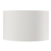 CYLINDER SHADE SMALL - White Linen