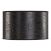 CYLINDER SHADE SMALL - Leather Black