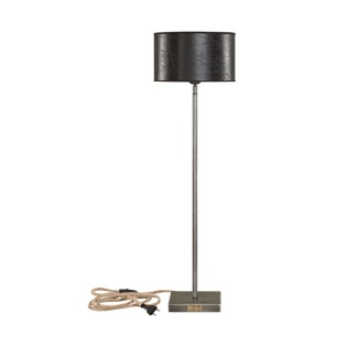 PEWTER LAMPSTAND TABLE HIGH -