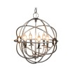 ROME CEILING LAMP STEEL SMALL