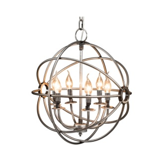 ROME CEILING LAMP STEEL SMALL -
