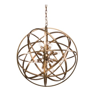 NEST CEILING LAMP BRASS LARGE -