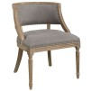 MAPLE ARMCHAIR - Linen Grey