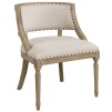 MAPLE ARMCHAIR - Linen Sand