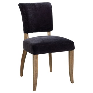MIMI DININGCHAIR - Velvet Graphite
