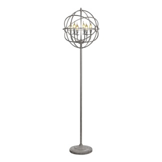 ROME CHANDELIER FLOORLAMP STEEL -