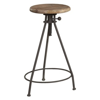 ELMWOOD ADJUSTABLE STOOL -