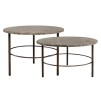 FREDO MARBLE COFFEETABLE / SIDETABLE SMALL