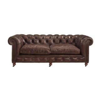 KENSINGTON SOFA 2,5-S VINTAGE LEATHER CIGAR -