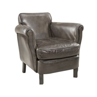 ANTWERPEN ARMCHAIR LEATHER LAMPRÉ -