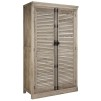 ELMWOOD CLOTHING CABINET DOUBLE DOOR