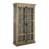 ELMWOOD FRENCH CABINET DOUBLE DOOR GLASS