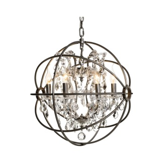 ROME CRYSTAL CEILING LAMP SMALL -