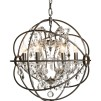 ROME CRYSTAL CEILING LAMP SMALL