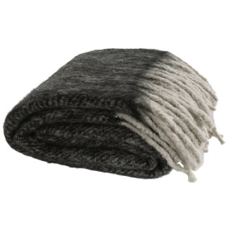 COSY GREY THROW -