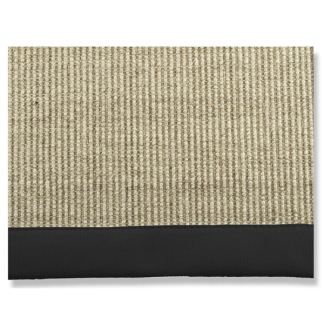 SISAL BLACK CARPET - w 200 x l 300 cm