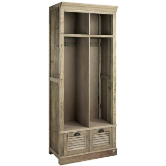 ELMWOOD OPEN CLOTHING CABINET -