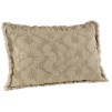AVALON BEIGE CUSHION - 60x40 cm