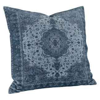 ARIANNA PAISLY BLUE CUSHION - 50x50