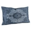 ARIANNA PAISLY BLUE CUSHION - 60x40