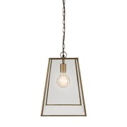 SLIM CITY BRASS CEILING LAMP