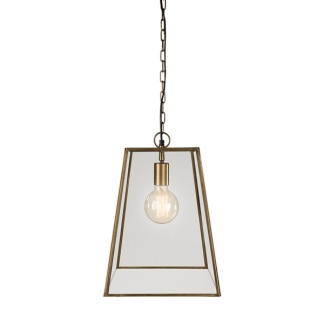 SLIM CITY BRASS CEILING LAMP -