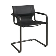 GIANNI DINING ARMCHAIR BLACK