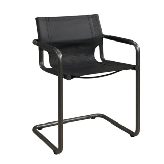 GIANNI DINING ARMCHAIR BLACK -