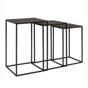 NOVA SIDETABLE GRAPHITE