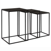 NOVA SIDETABLE BLACK