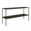 MILLE CONSOLE TABLE - Vintage Brass