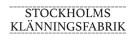 stockholmsklanningsfabrik