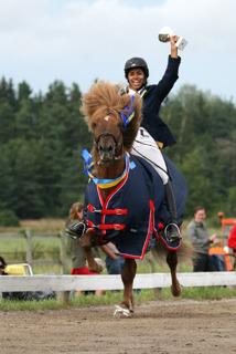 Jamila och Ljufur. SM vinnare 2009. Foto Mette Lund Lindeberg