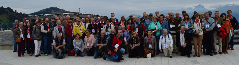 Photo of all delegates. Taken at Rigi Kaltbad. Click to enlarge.