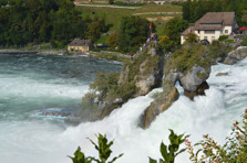 Rheinfall waterfall.