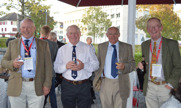 Delegates from the UK; Richard Mann, John Kemp, Les Gould, Nigel Metson