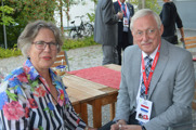 Delegates from the Netherlands; Marianne & Frans Simons