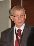 Robin Irvine, chairman of the UK society.