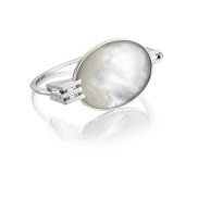 MOTHER OF PEARL CUFF - PEARL