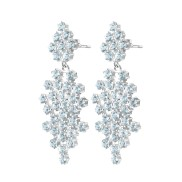 FROST EARRINGS BLUE TOPAZ