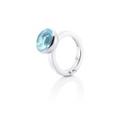 LOVE BEAD GRANDE RING - TOPAZ