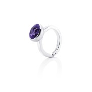 LOVE BEAD GRANDE RING - AMETHYST