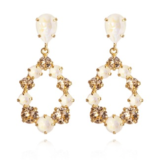 Delia Earrings / Light DeLite Light Peach