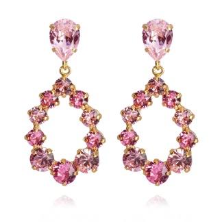 Delia Earrings / Light Rose