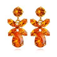 Mini Dione Earrings / Tangerine